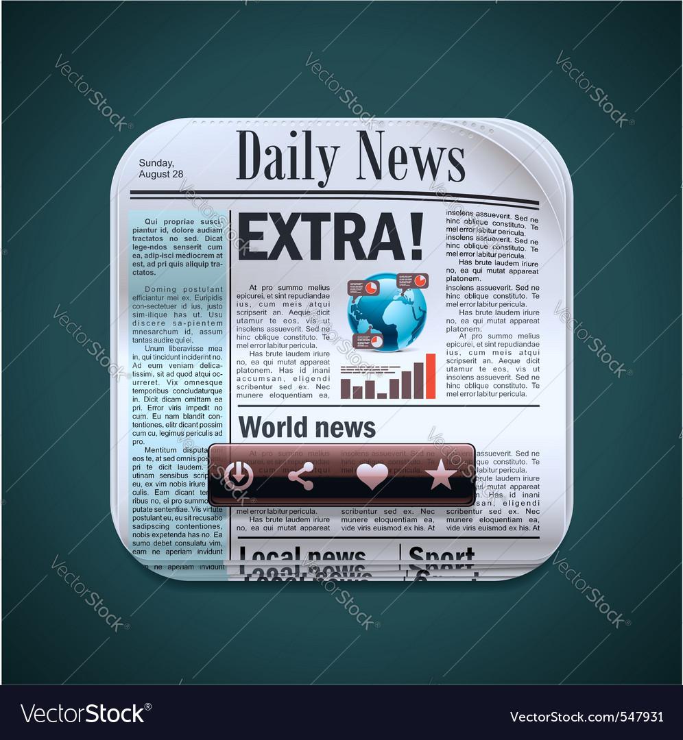 Square newspaper xxl icon