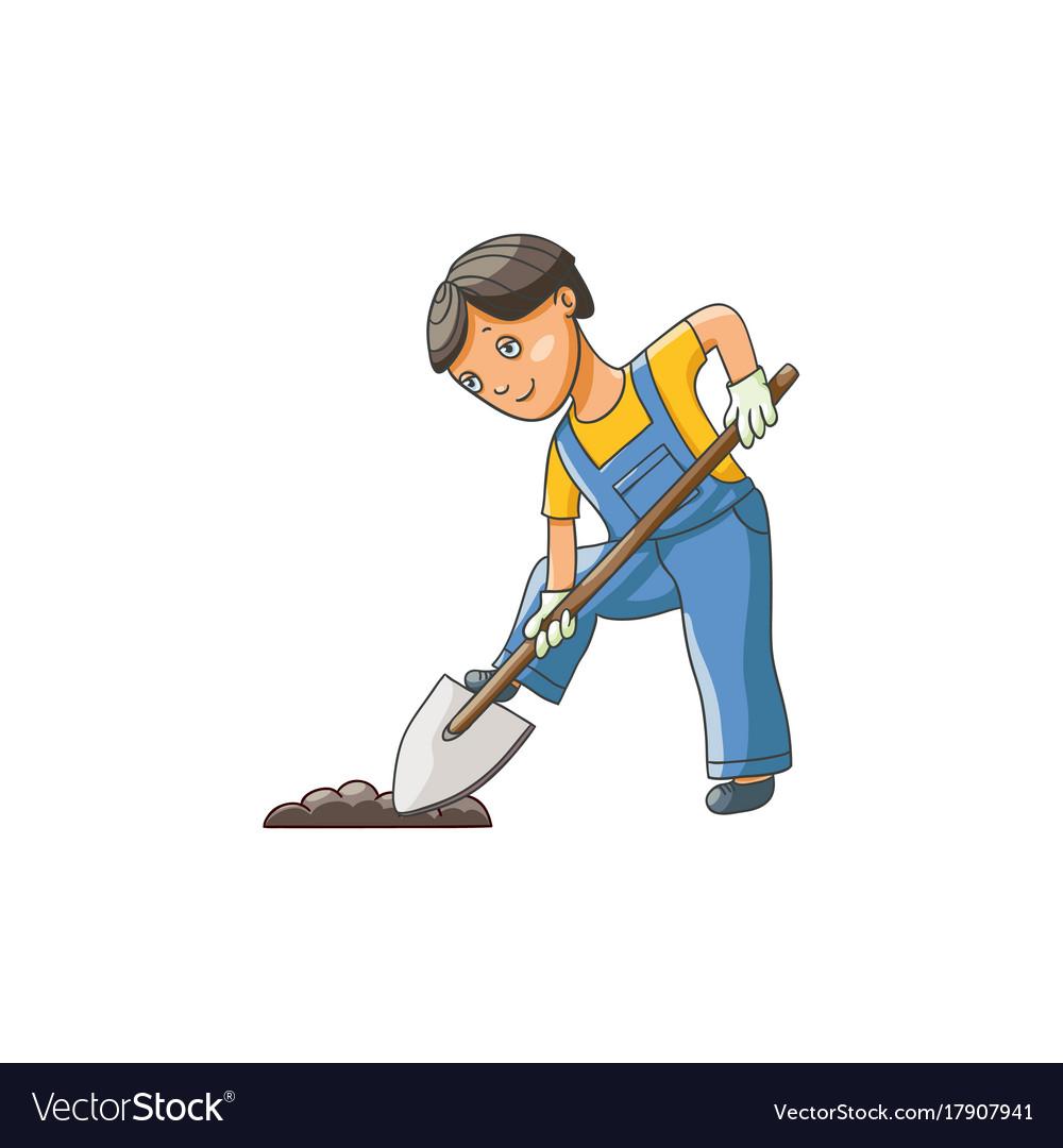 Лопата копает картинки для детей