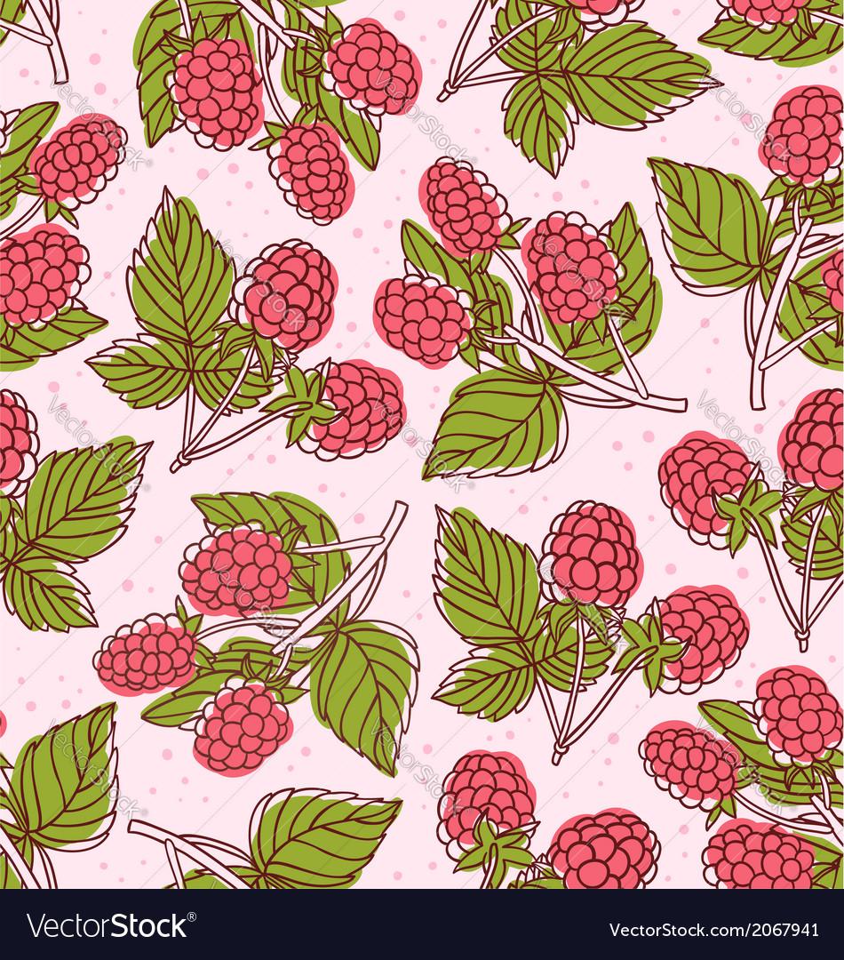 Raspberry pattern