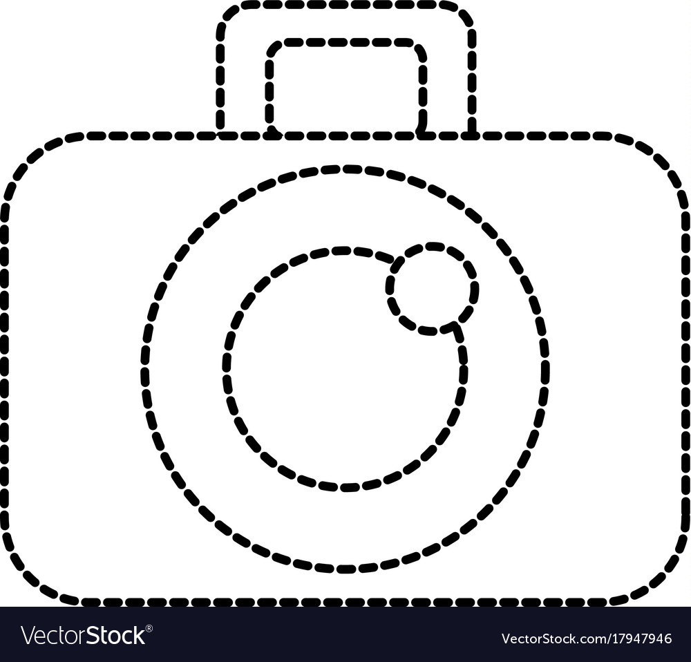 Graphic design camera studio icon symbol vector image