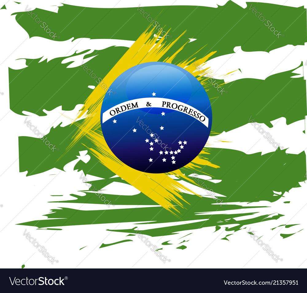 Flag of brazil symbol