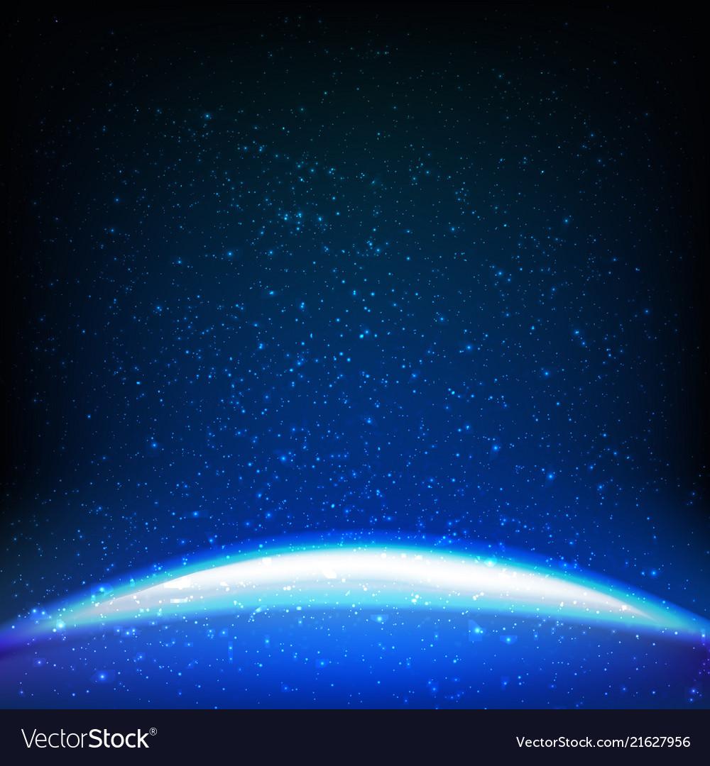Dark blue space background
