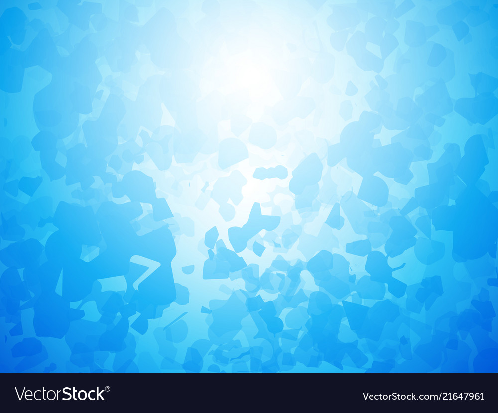 Artistic blue background forming by abstract