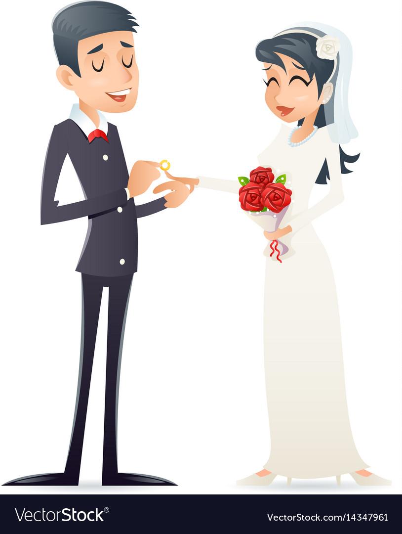 Groom holds cute bride on arms vintage happy