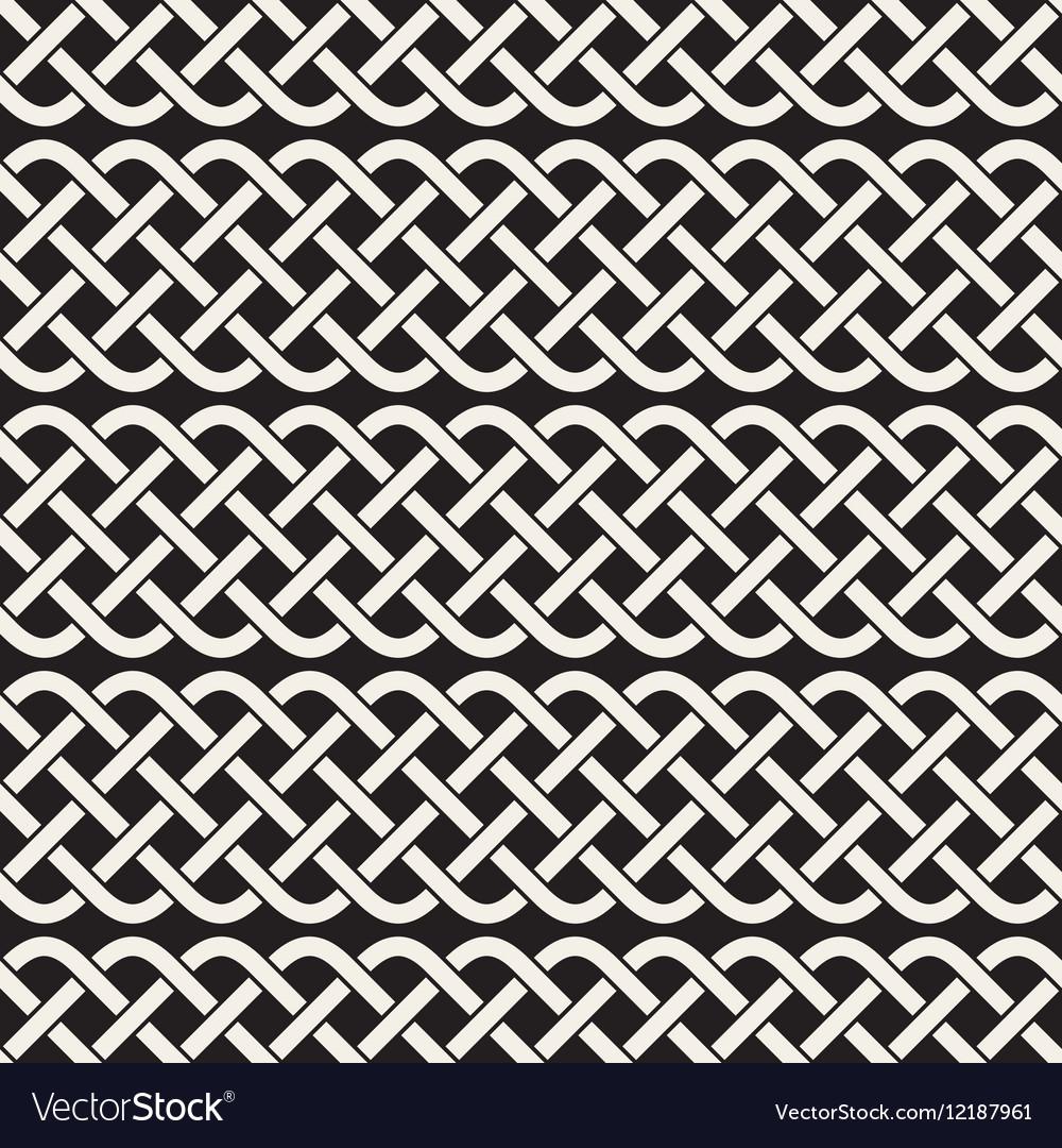 Interlaced Lines Celtic Ethnic Ornament