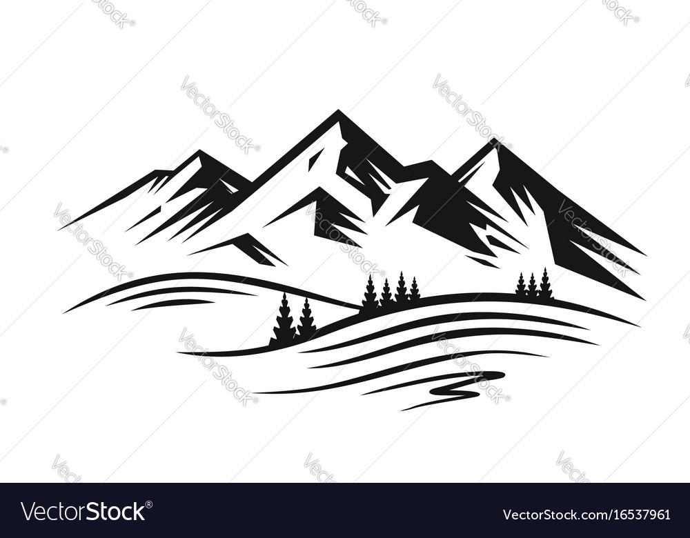 Mountain and landscape