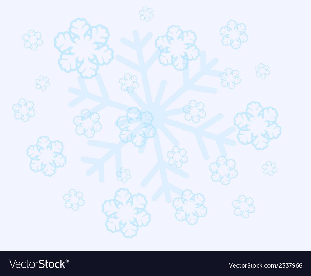 Abstract christmas snow flakes