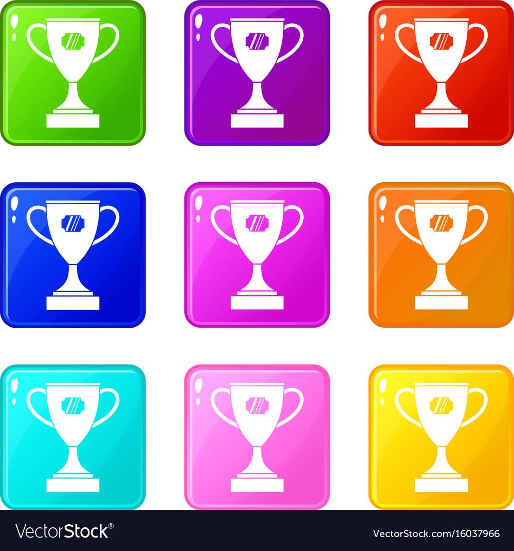 Winner cup set 9