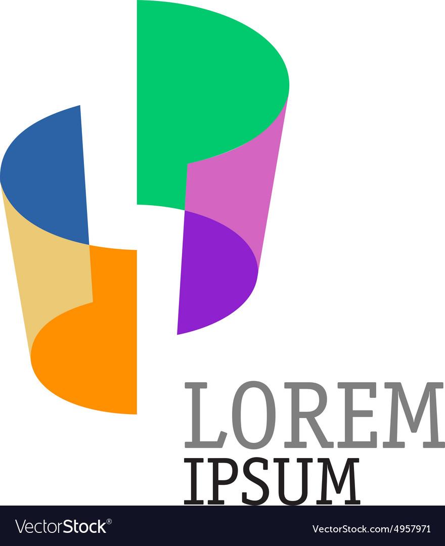 Abstract shapes logo