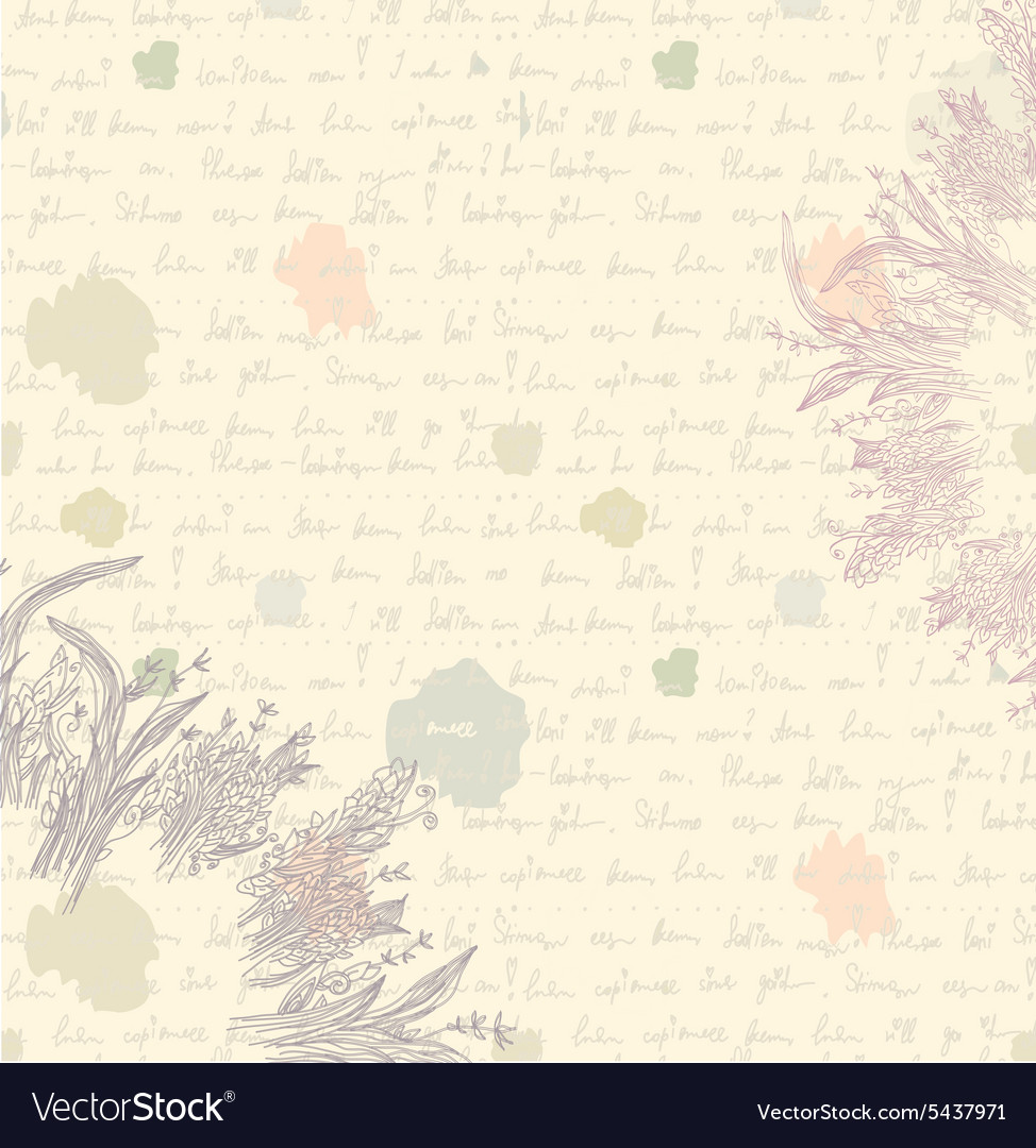 old letter background paper royalty free vector image