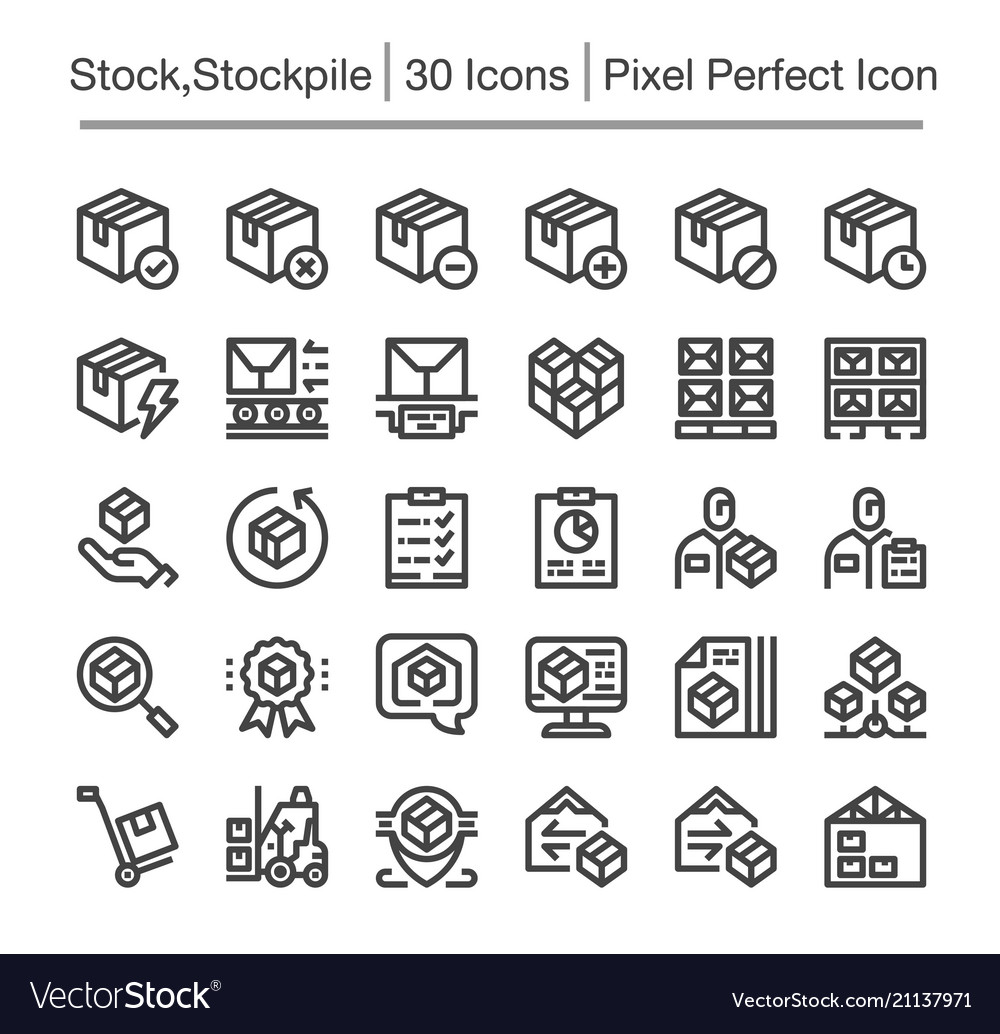Stockpile icon