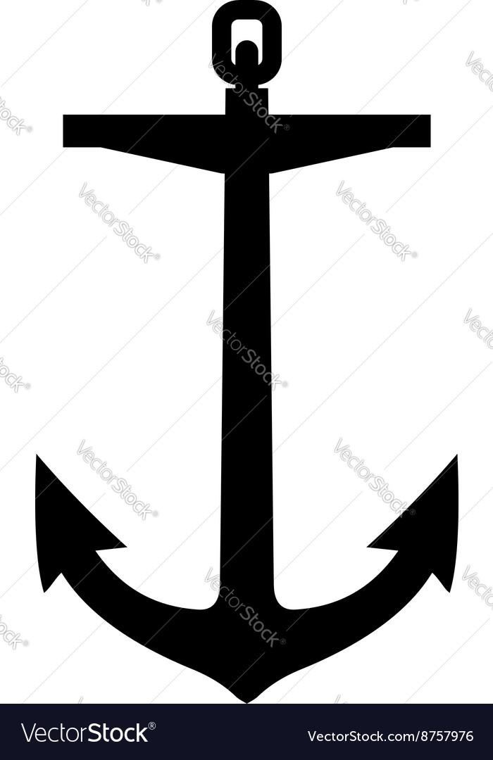 Anchor silhouette