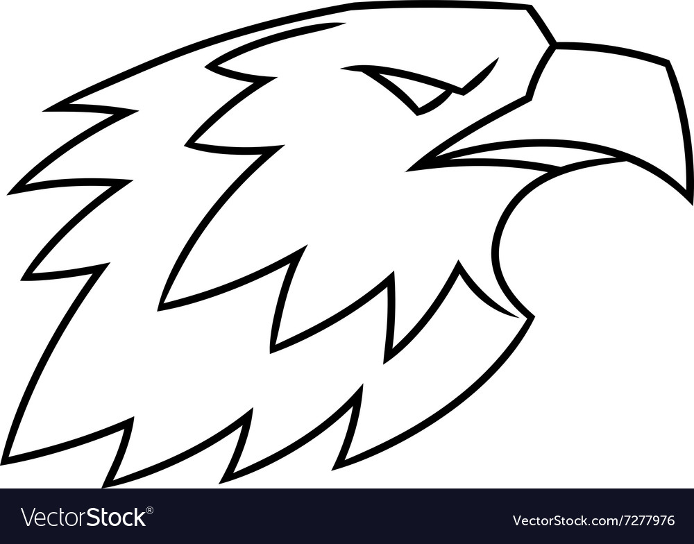 Eagle head logo