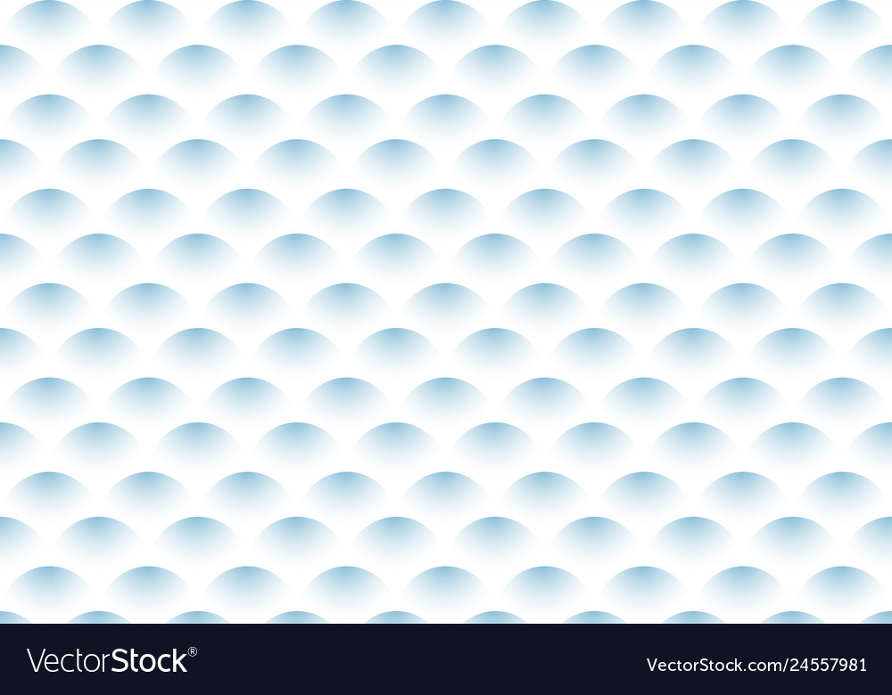 Abstract semicircle blue gradient wave pattern on