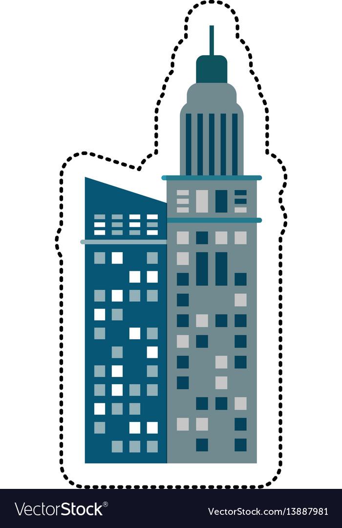 Building architecture business urban