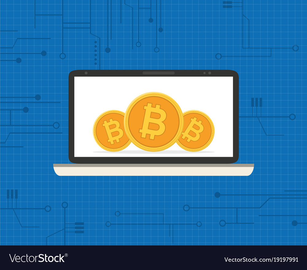 Block chain background design collection vector image