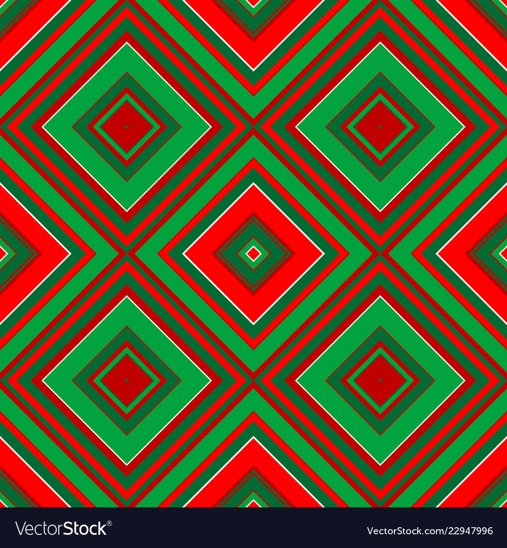 Christmas geometrical wrapping paper