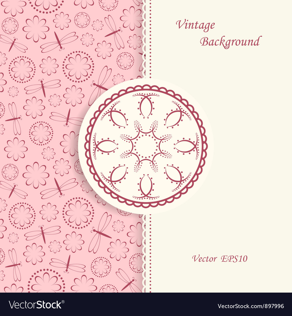 Lace background in vintage style