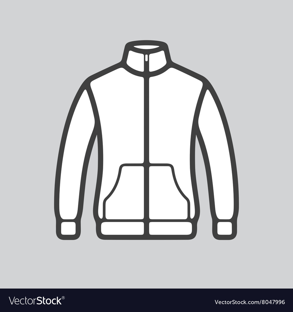 Sport jacket icon