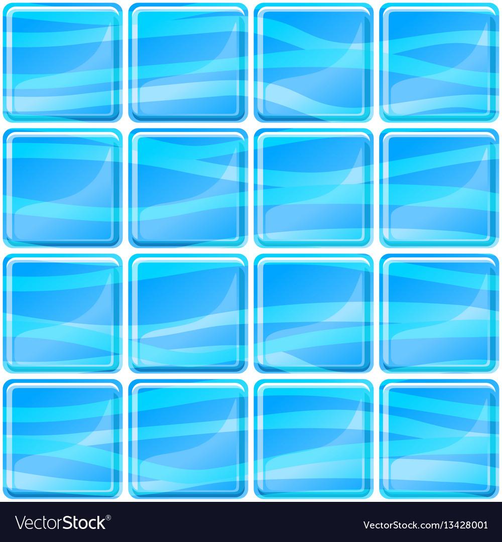 Blue tiles texture seamless