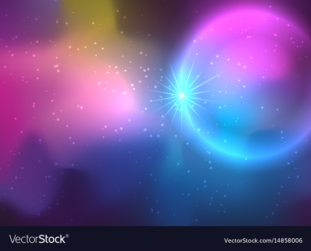 Galaxy background in deep colors royalty free vector image - 1000 color wallpapers ...