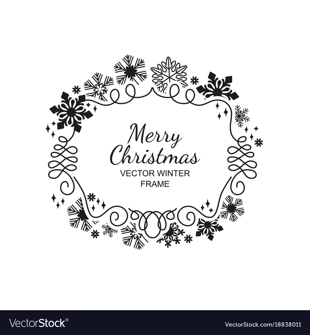 Merry Christmas Black And White Background Archidev