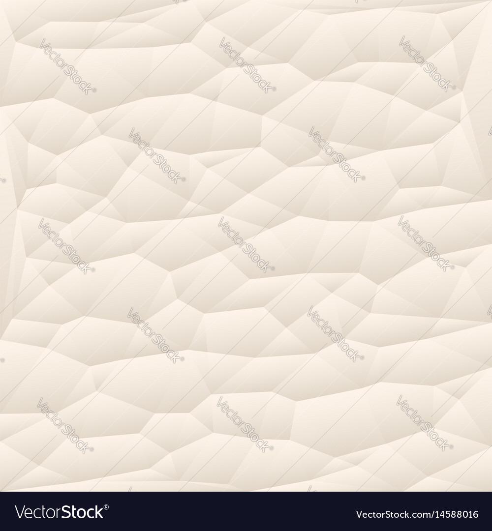Beige polygon abstract triangulated background