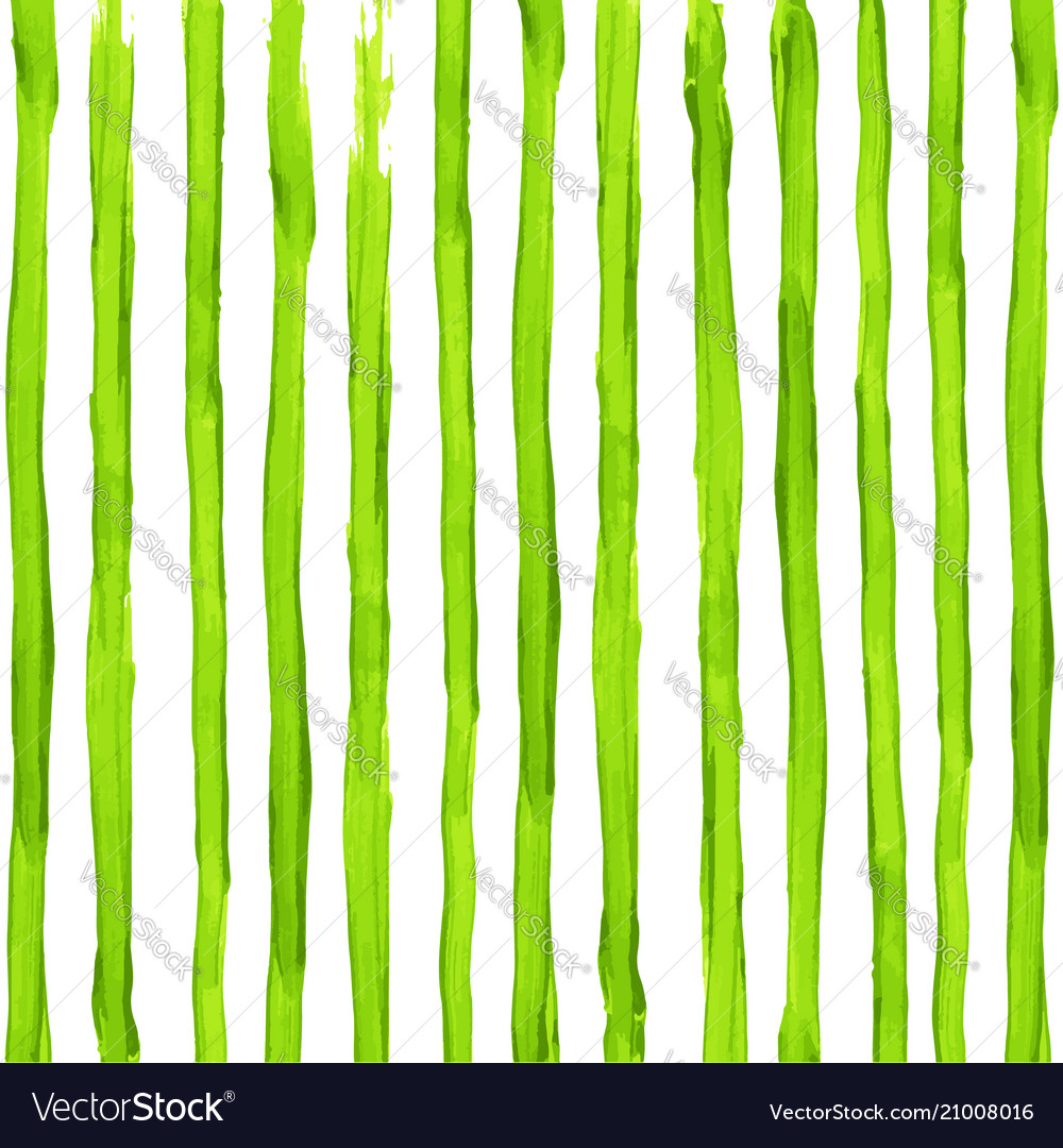 Watercolor acid green stripes background