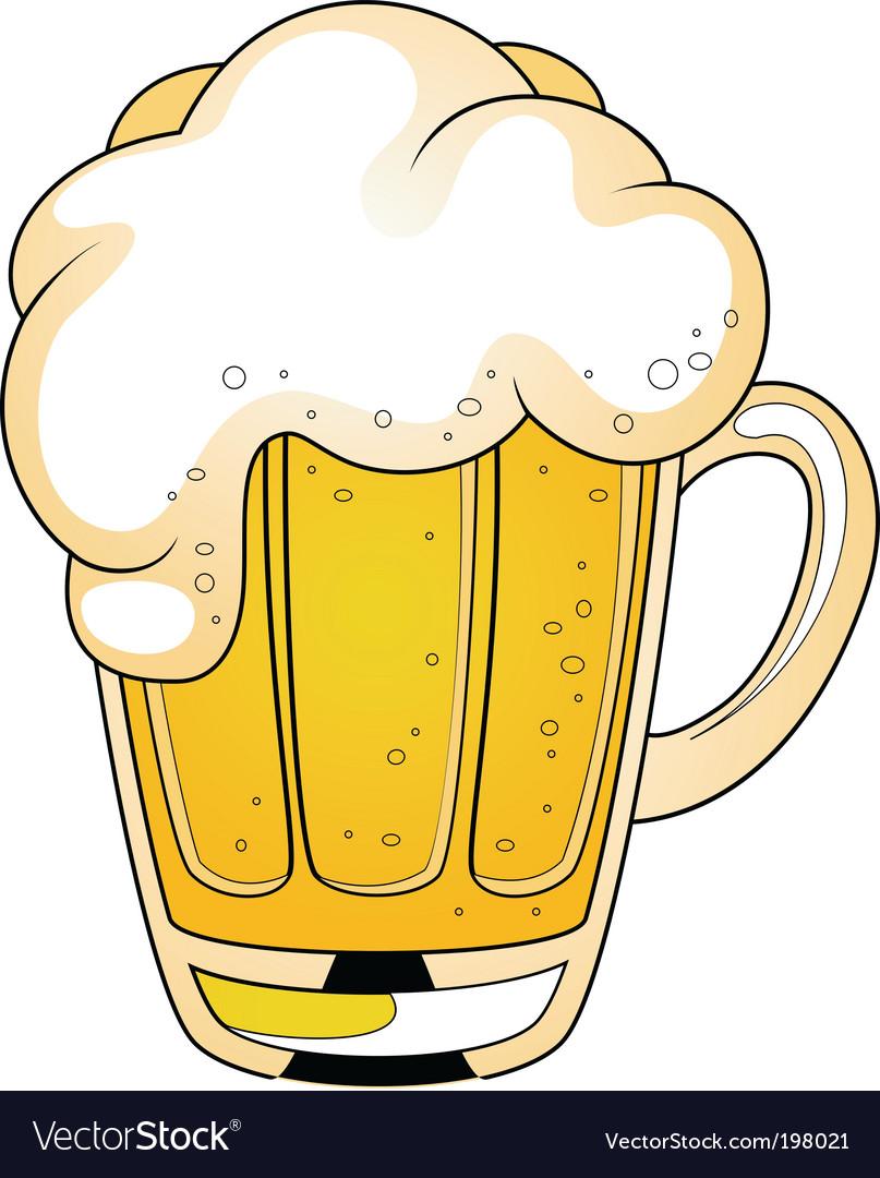 Cartoon beer