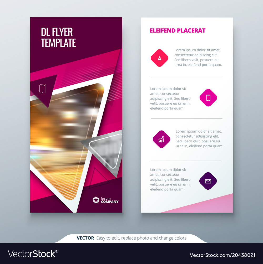 Dl brochure template dl flyer design corporate business template.