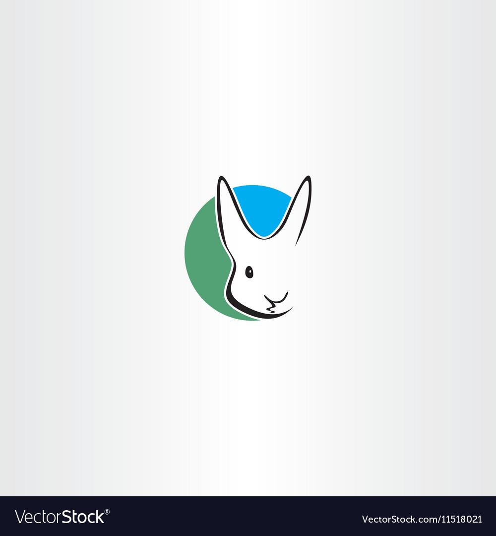 Rabbit logo design symbol