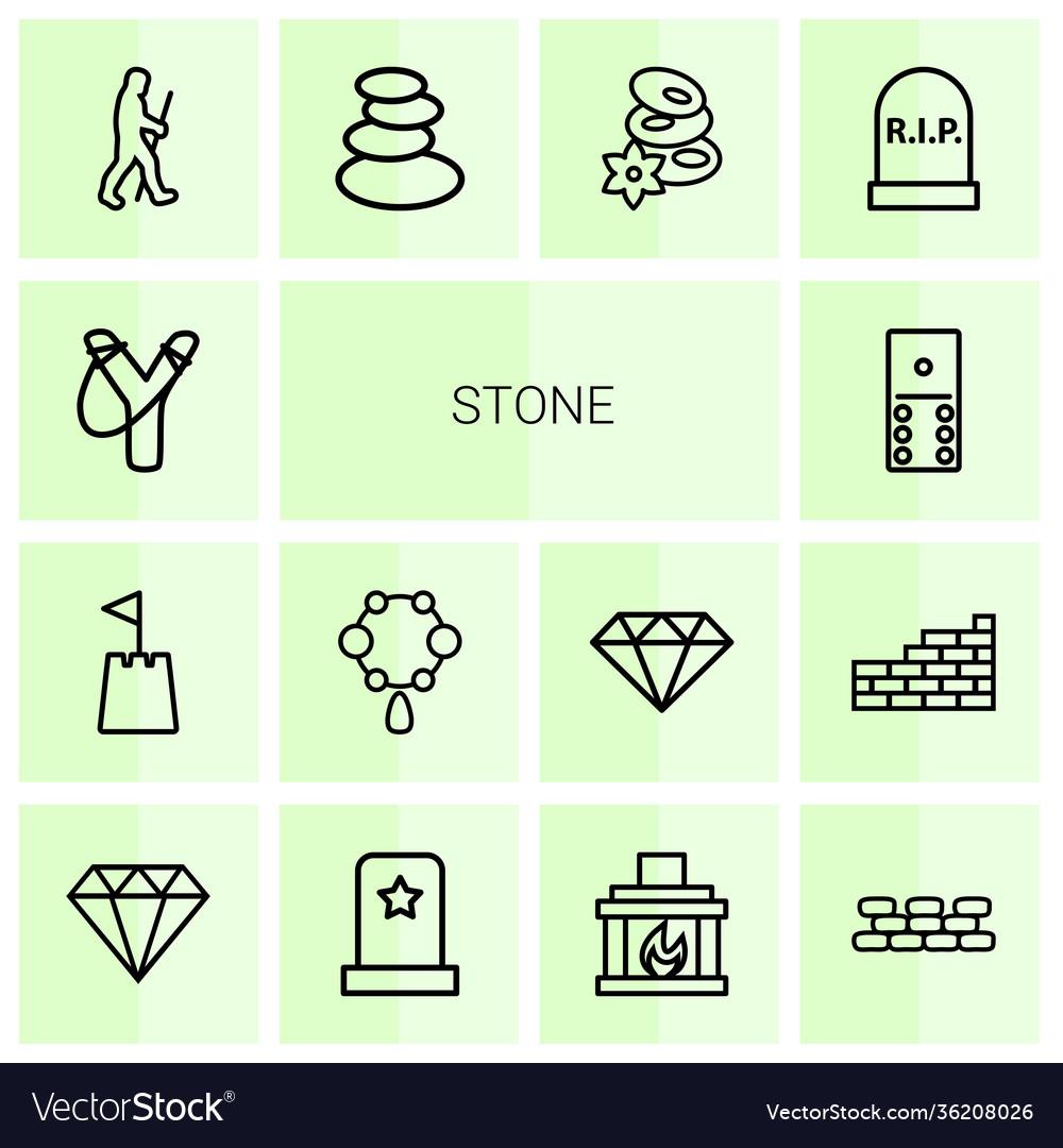 14 stone icons