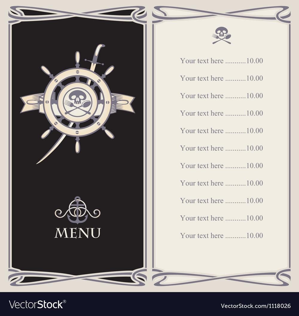 Saber menu