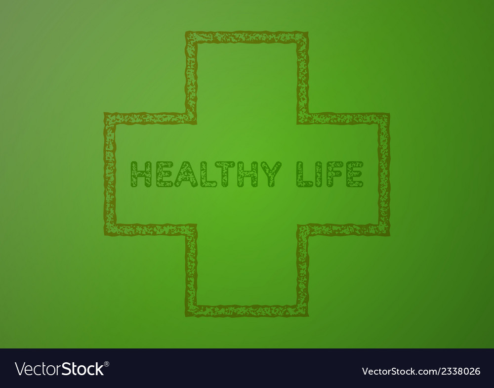 Stamp with healthy life