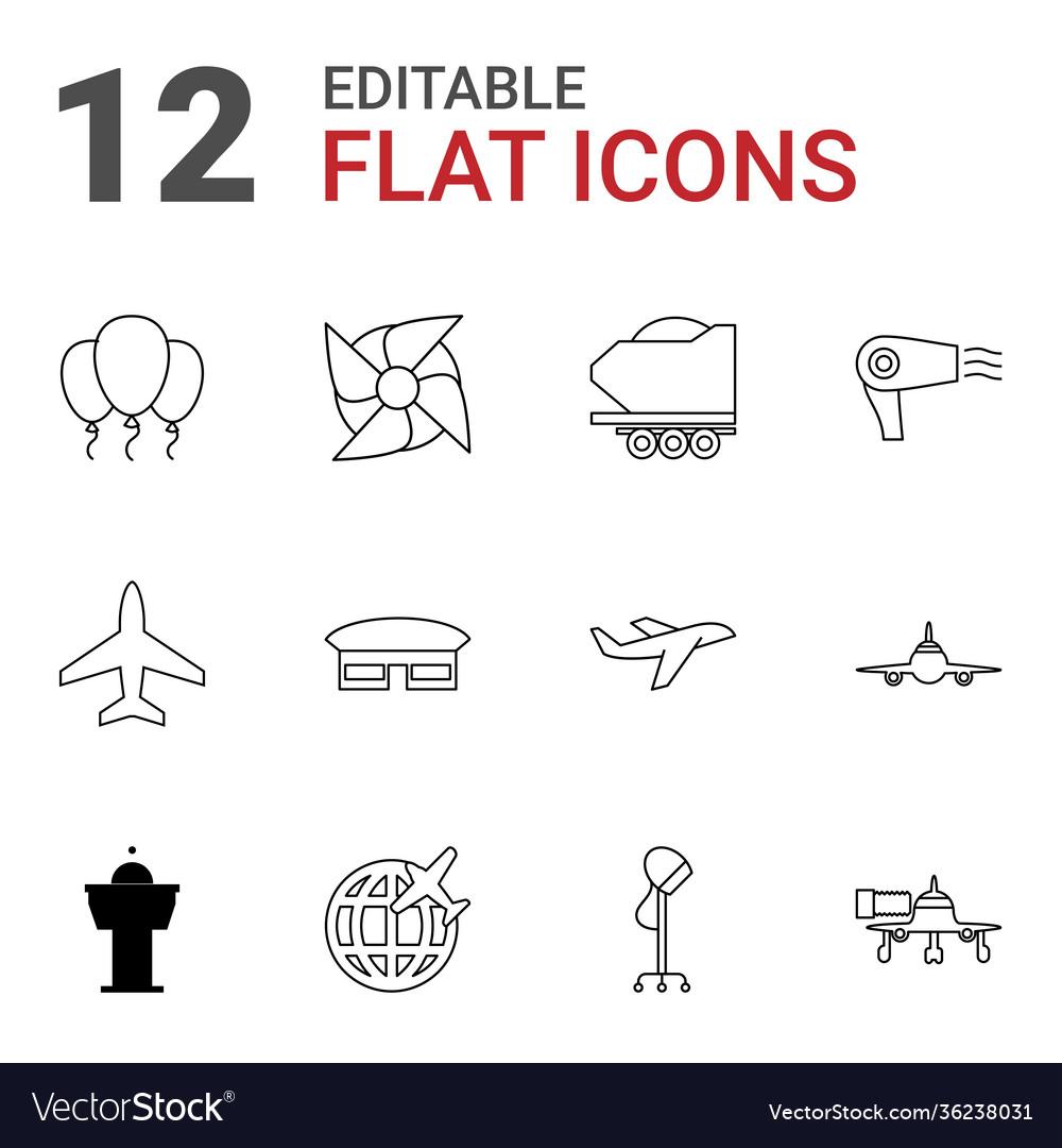 12 air icons