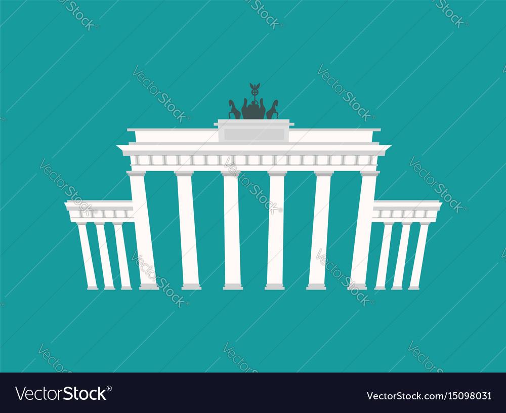 Brandenburg gate landmark germany historic