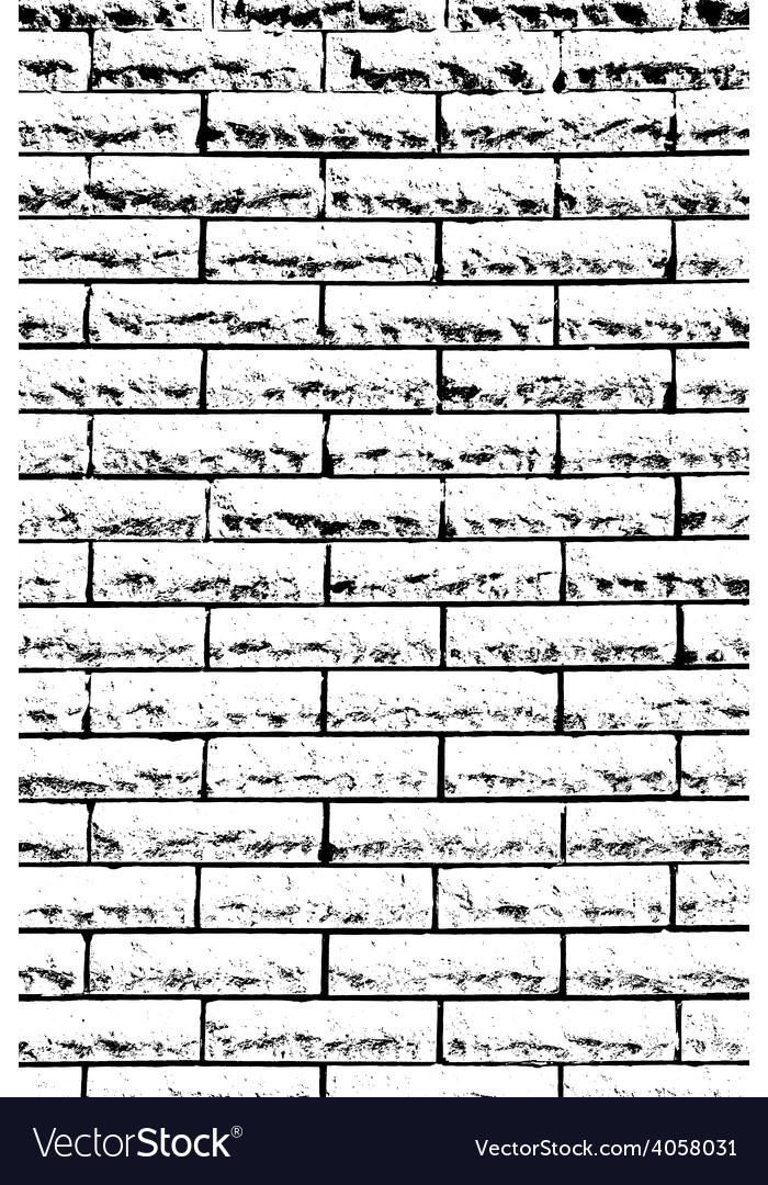 Decorative Brickwall vector image