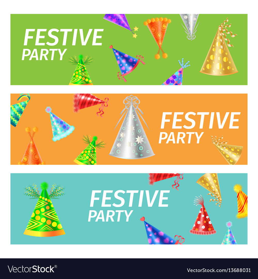 Festive party advertising poster