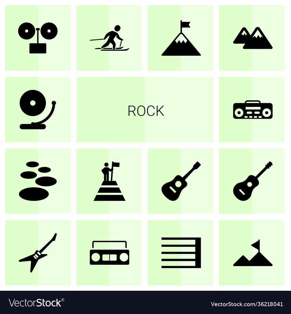 14 rock icons