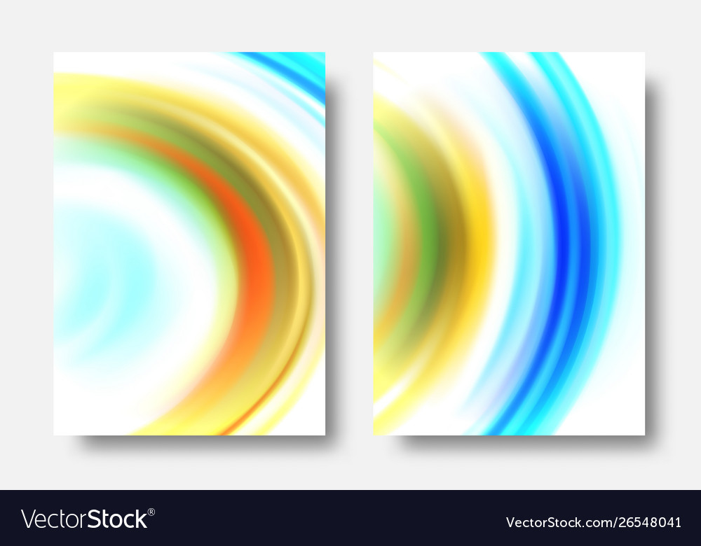 Abstract wave background set wave acrylic