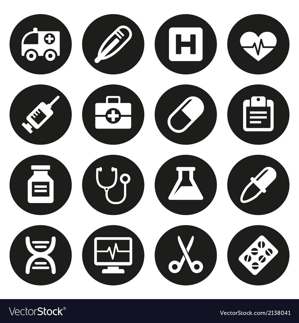 Medical icons set 1
