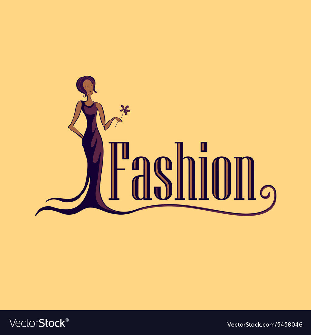 Fashion Logo Symbol Royalty Free Vector Image Vectorstock