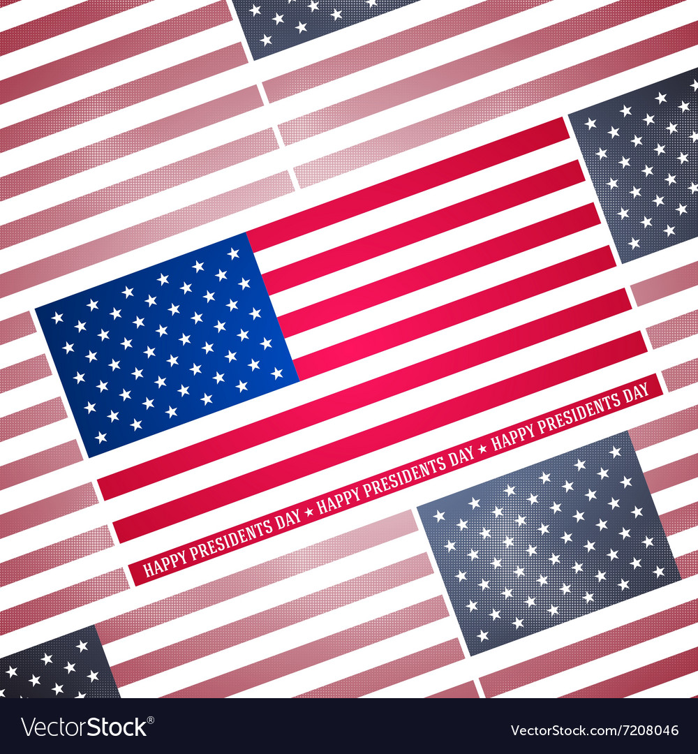 Presidents day background abstract dotted poster