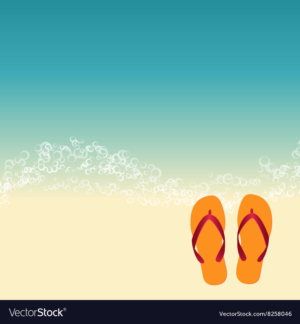 519a085ab02158 Summer beach background Royalty Free Vector Image
