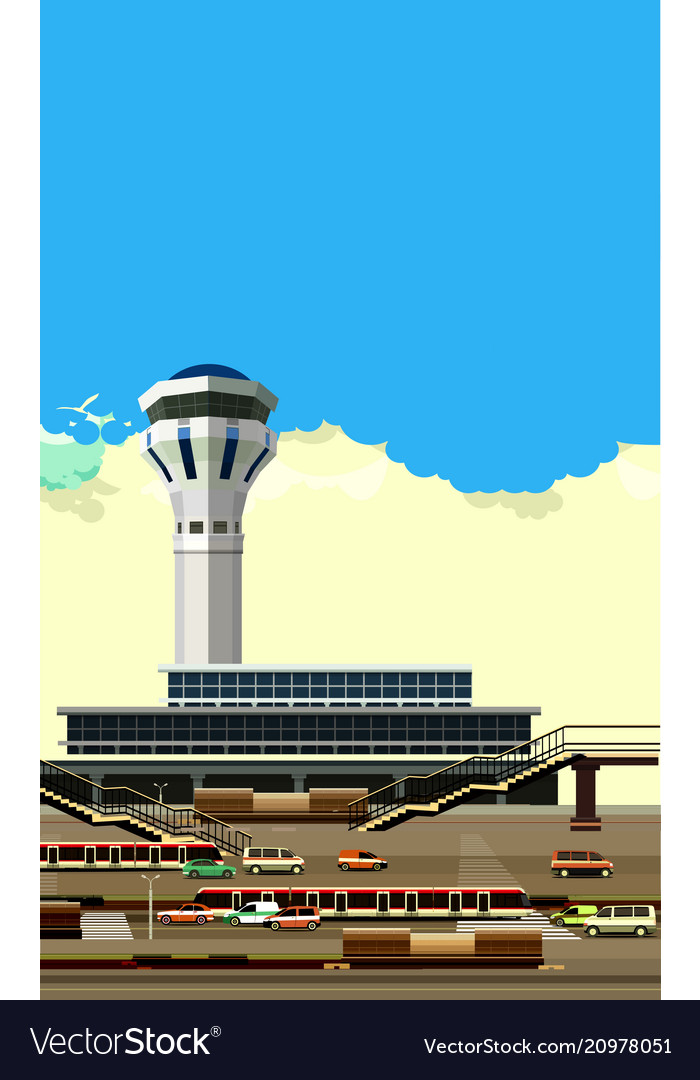 Airport building