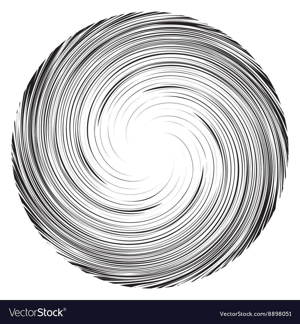 Vortex speed lines background Collapsar on white