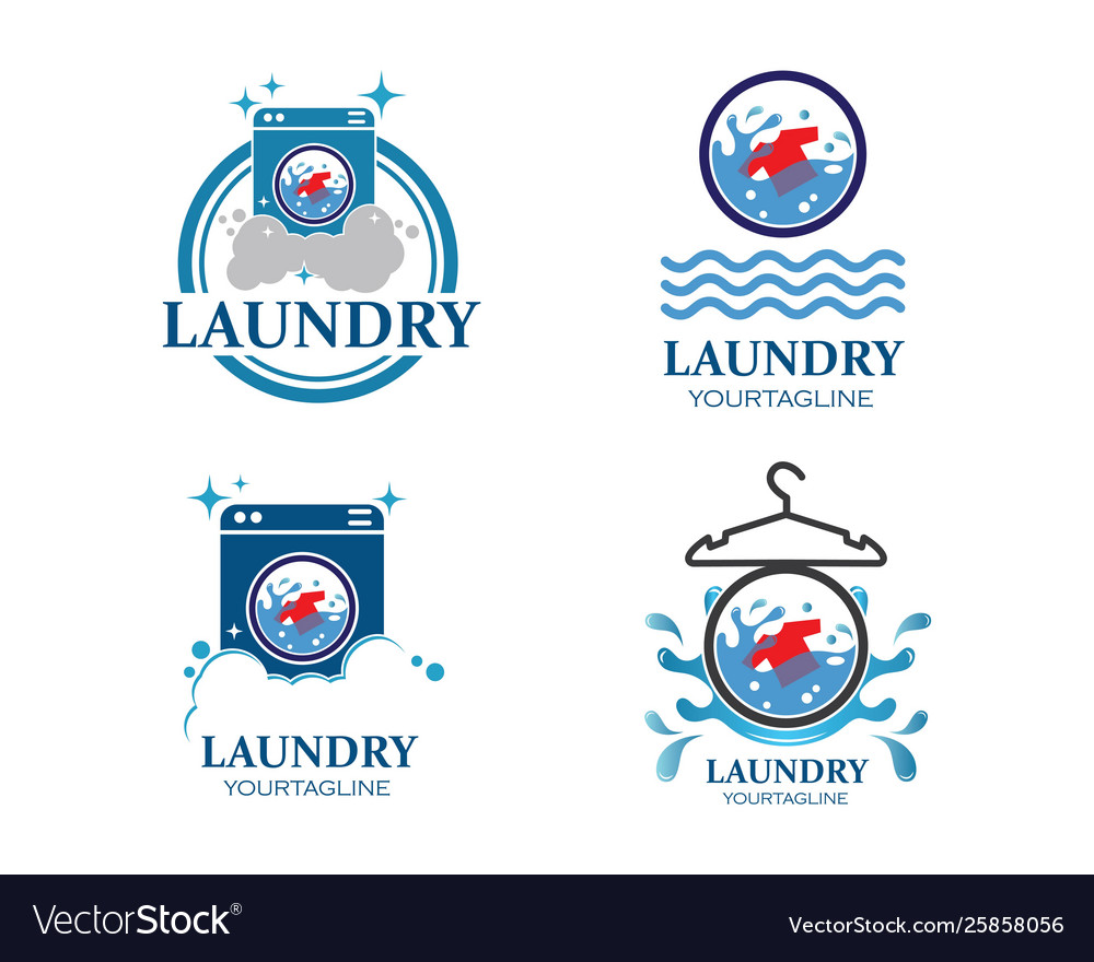 Laundry logo icon