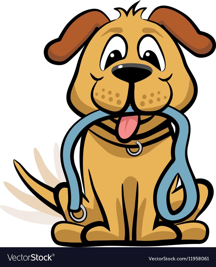 dog waiting to walk clipart royalty free vector image rh vectorstock com clipart royalty free graphics clipart royalty free starfish clip art