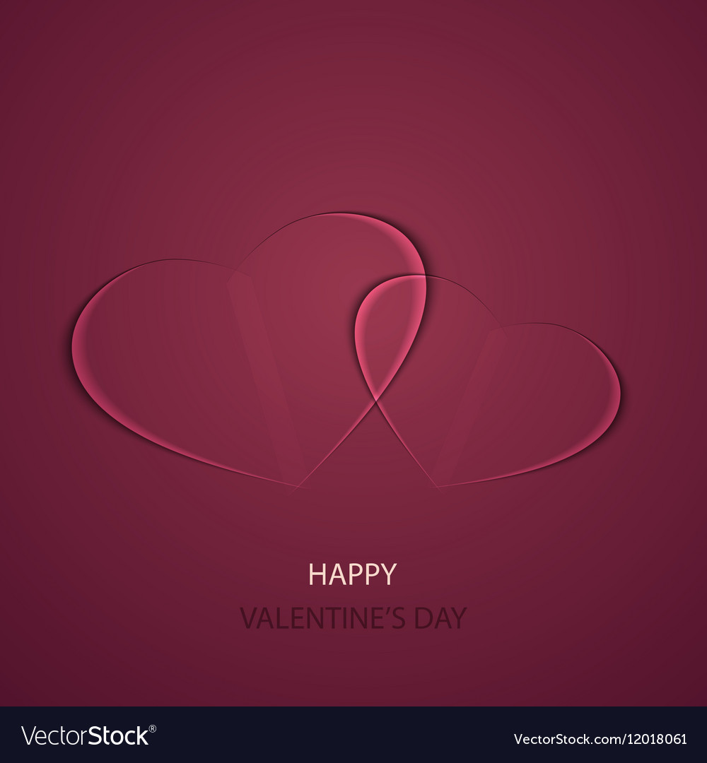 Modern valentines day background