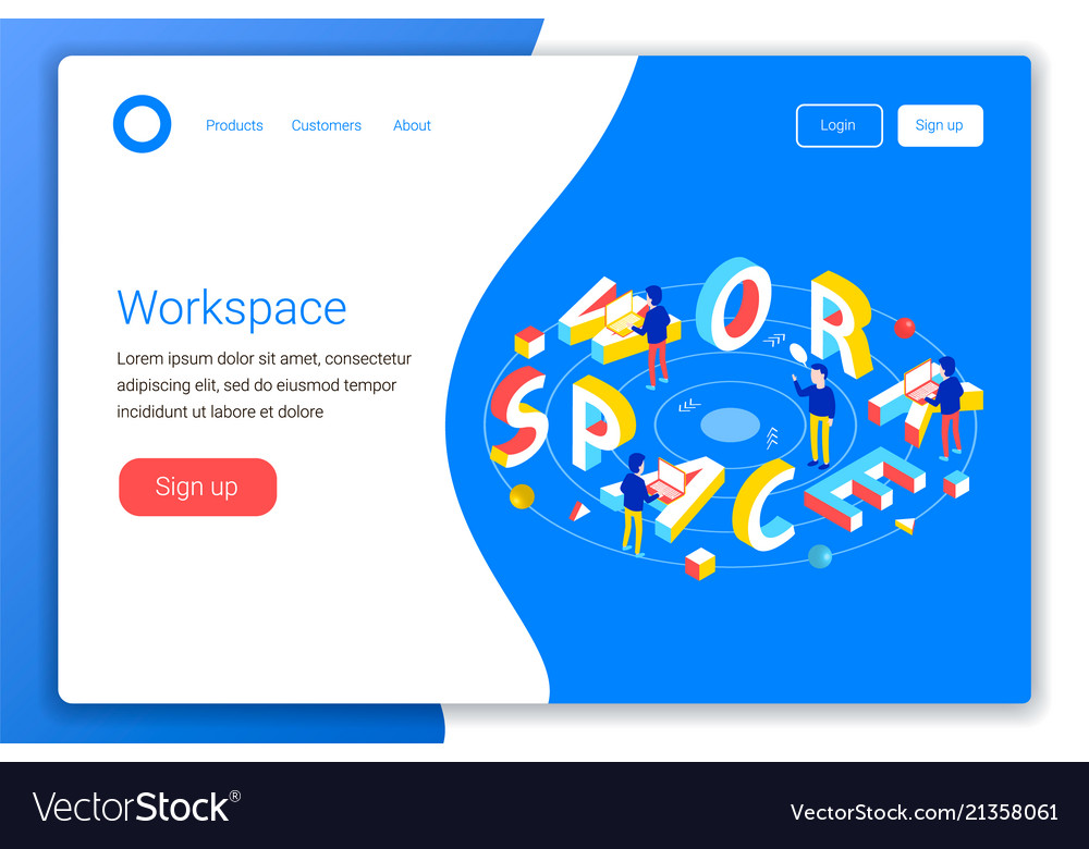 Workspace design concept